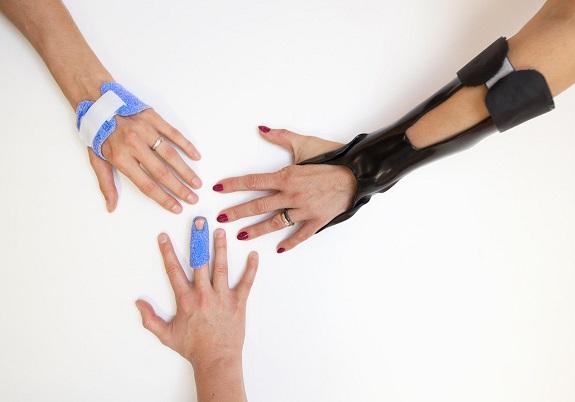 Rehabilitace ruky-dlahování